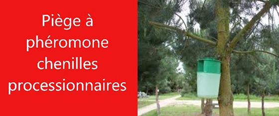 PIEGE PHEROMONE CHENILLES PROCESSIONNAIRES