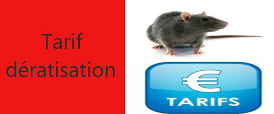 tarif deratisation